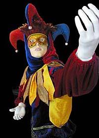 Jester Life-size Figure, Muckleshoot Casino Ice Cream and Candy Shop, WA