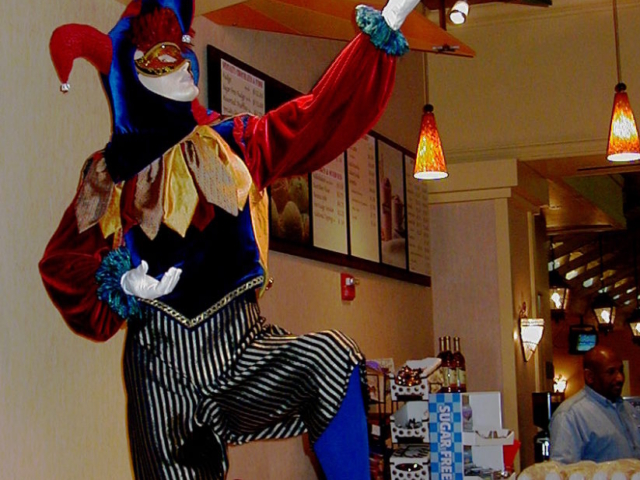 Jester, Ice Cream & Candy Shop Counter, Muckleshoot Casino