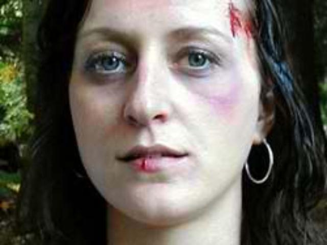 Kelly Hyde as Norah, Missing Girl - Makeup by Tim Vittetoe, ImpaQt FX