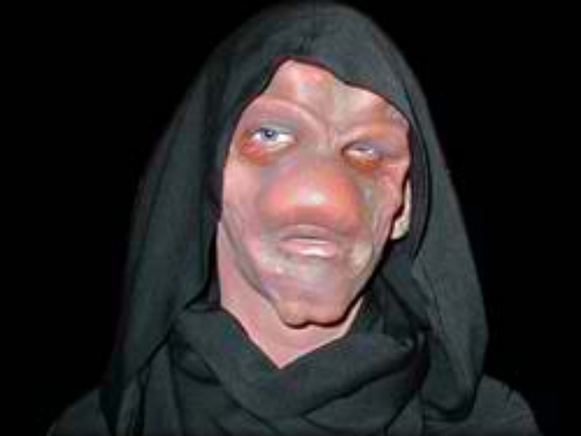 Tom Vittetoe as Alien, Sculpt and Makeup Application by Tim Vittetoe, ImpaQt FX