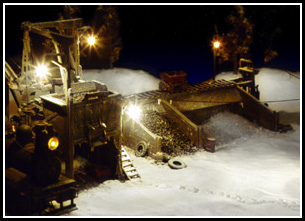 Award-winning HO Scale (1/87) Diorama created for Model Railroader Magazine Photography Contest