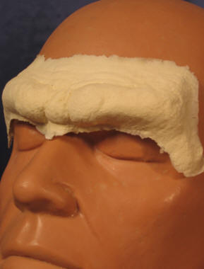 Caveman Mask Brow - Foam Latex