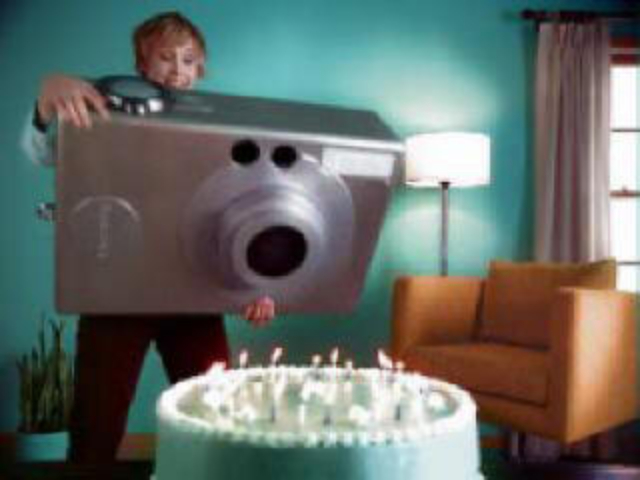 Large Camera Prop, Wisconsin Lottery Commercial