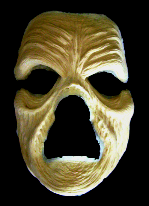 Withered Zombie - Foam Latex Mask
