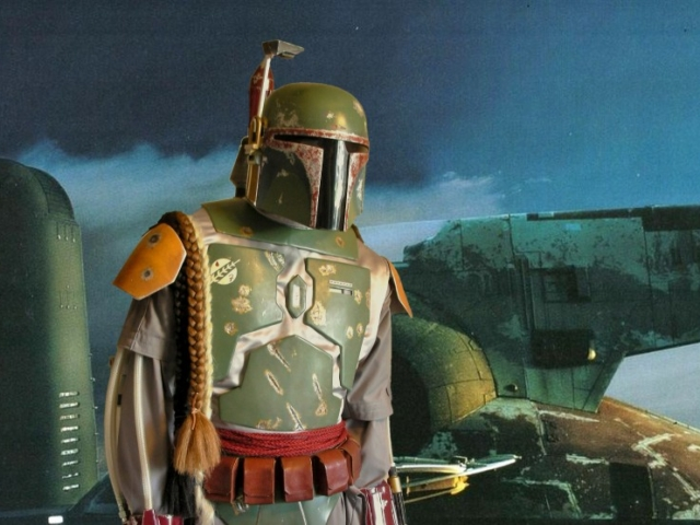 Tim Vittetoe as Boba Fett, Personal Collection