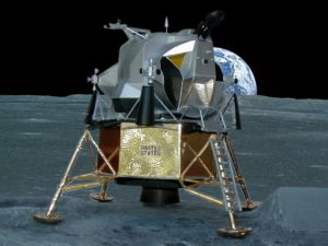 1969 Lunar Landing Module - 1/48 Scale Desktop Model for Microsoft Exec.
