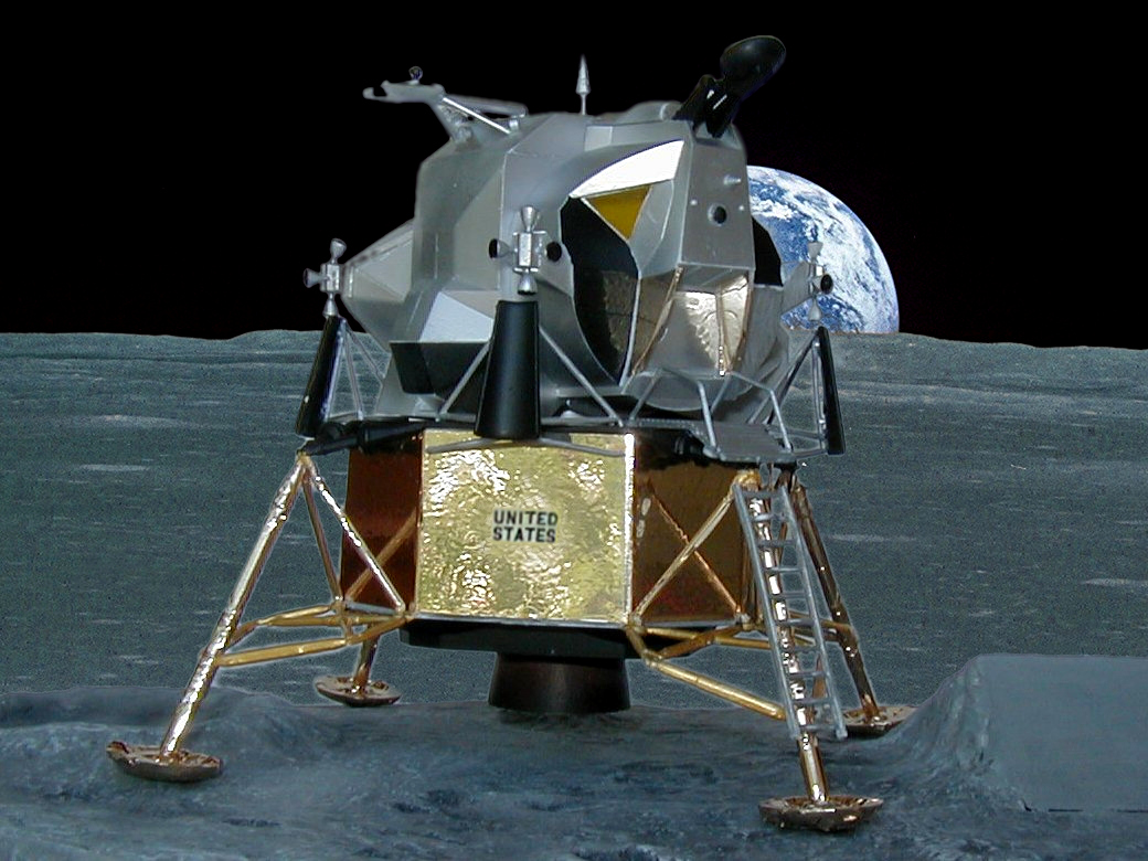 Desktop Scale (1/48) Model of the 1969 Lunar Landing Module