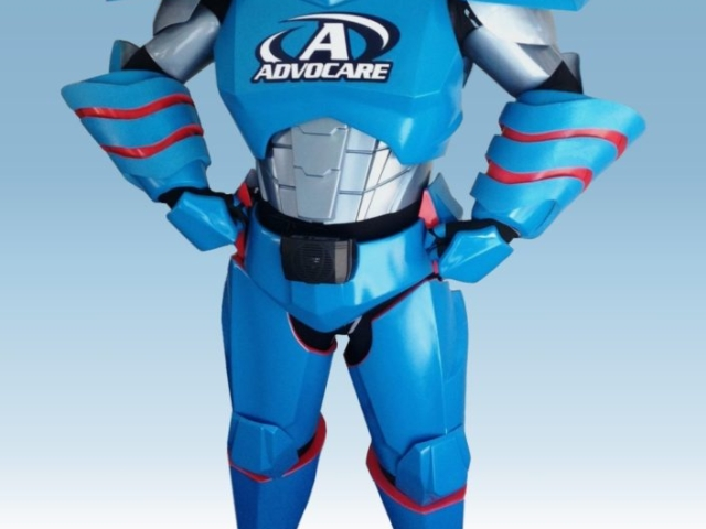 Robot Costume, Trade Show Promotion, Advocare