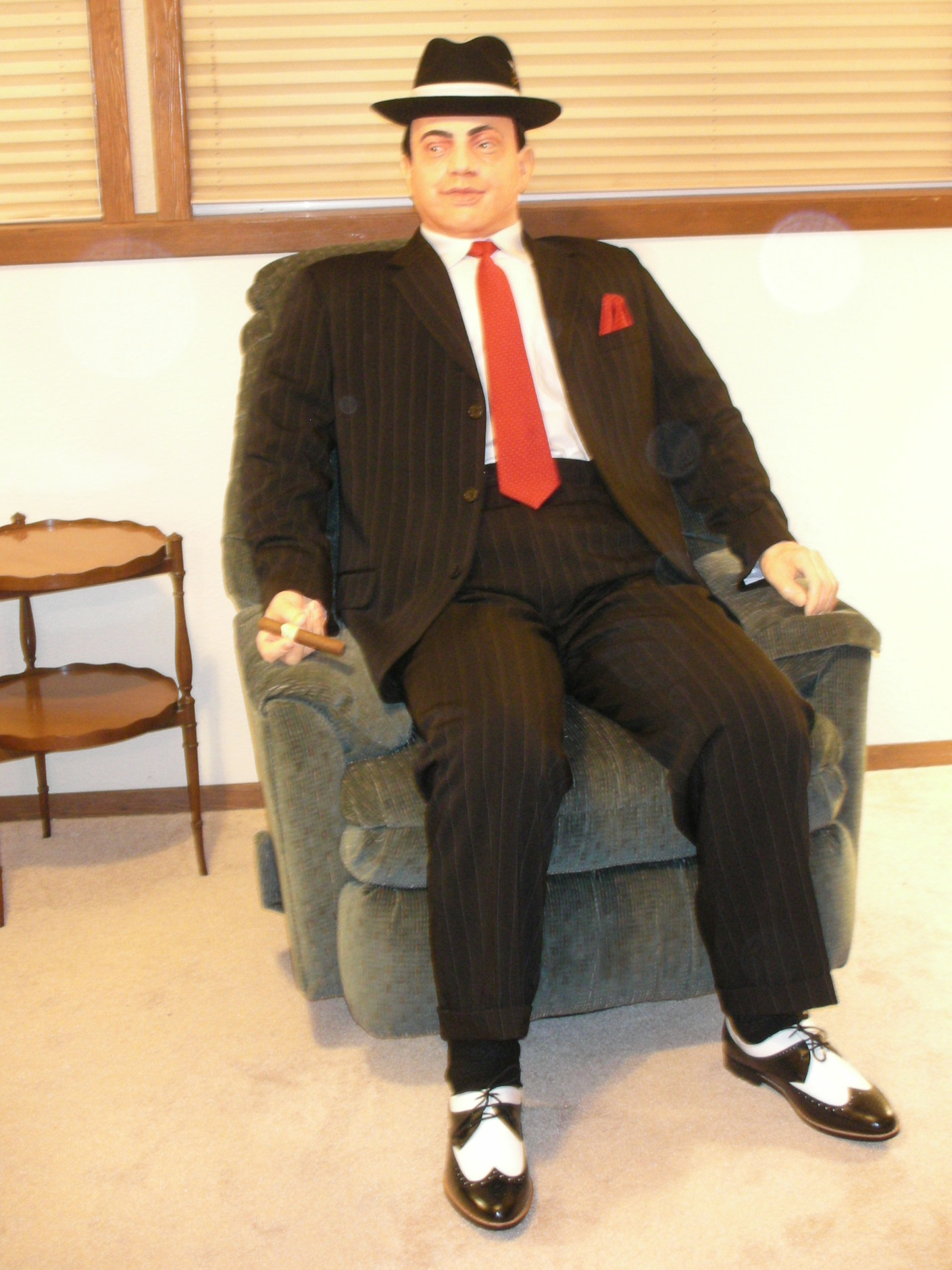 Al Capone Life-size Replica, Hotel Chain Photo Opp