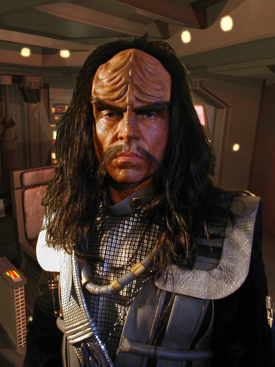 John Carrigan as Klingon, Star Trek:  Of Gods and Men - Makeup by Tim Vittetoe, ImpaQt FX