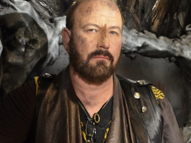 Kevin Fry-Bowers as Jaro, Star Trek Renegades - Makeup by ImpaQt FX