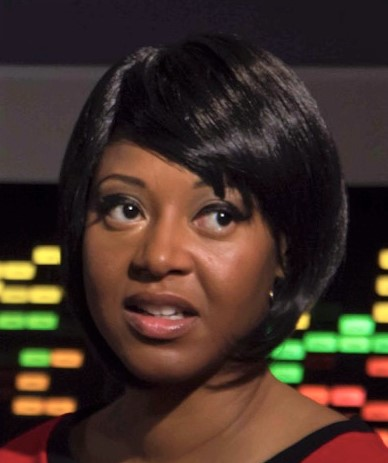 Kim Stinger as Uhura in Star Trek Continues Ep4, The White Iris
