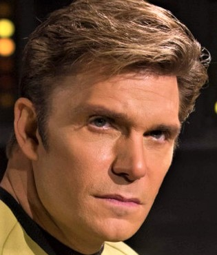 Vic Mignogna as Capt Kirk, Star Trek Continues Ep4, The White Iris