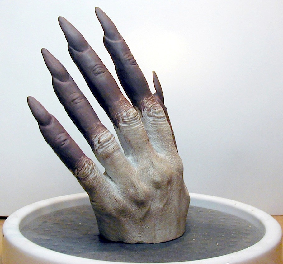 Witch Finger Extensions Sculpted by Tim Vittetoe - ImpaQt FX