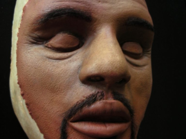 Black American Sculpt, Larry S. in Toledo, Sculpted by Tim Vittetoe - ImpaQt FX