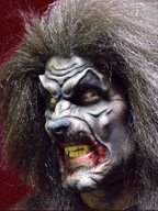 Werewolf Makeup Application