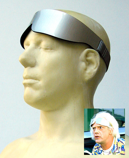 Doc Brown Visors, Back to The Future,  NBC-Universal Commission