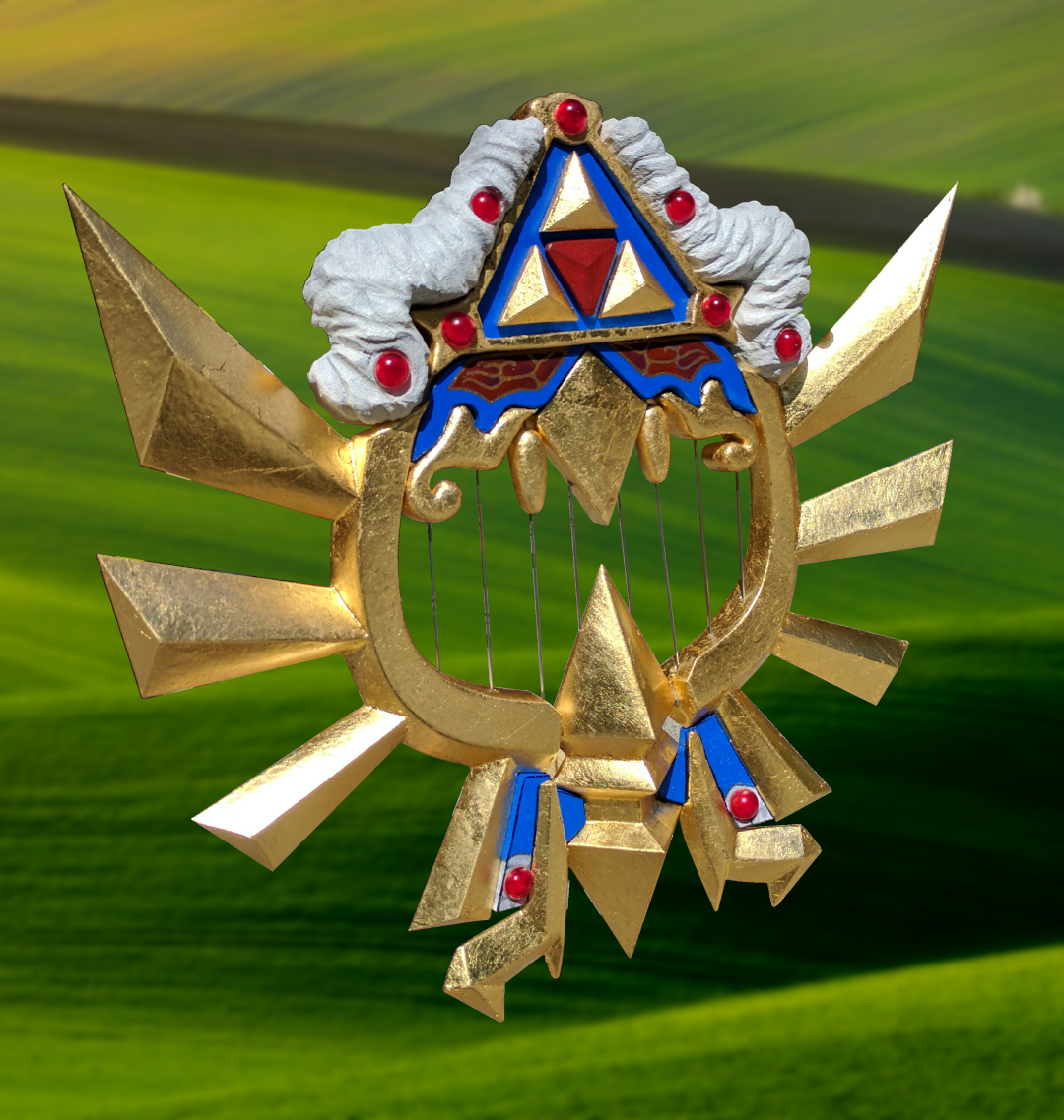 Sheik's Harp, Cosplay Character, Hyrule Warrior, Legend of Zelda