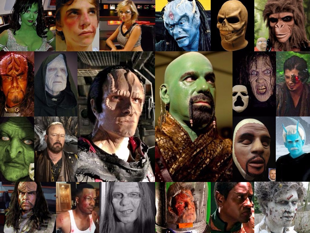 Collage of IFX Makeup Applications