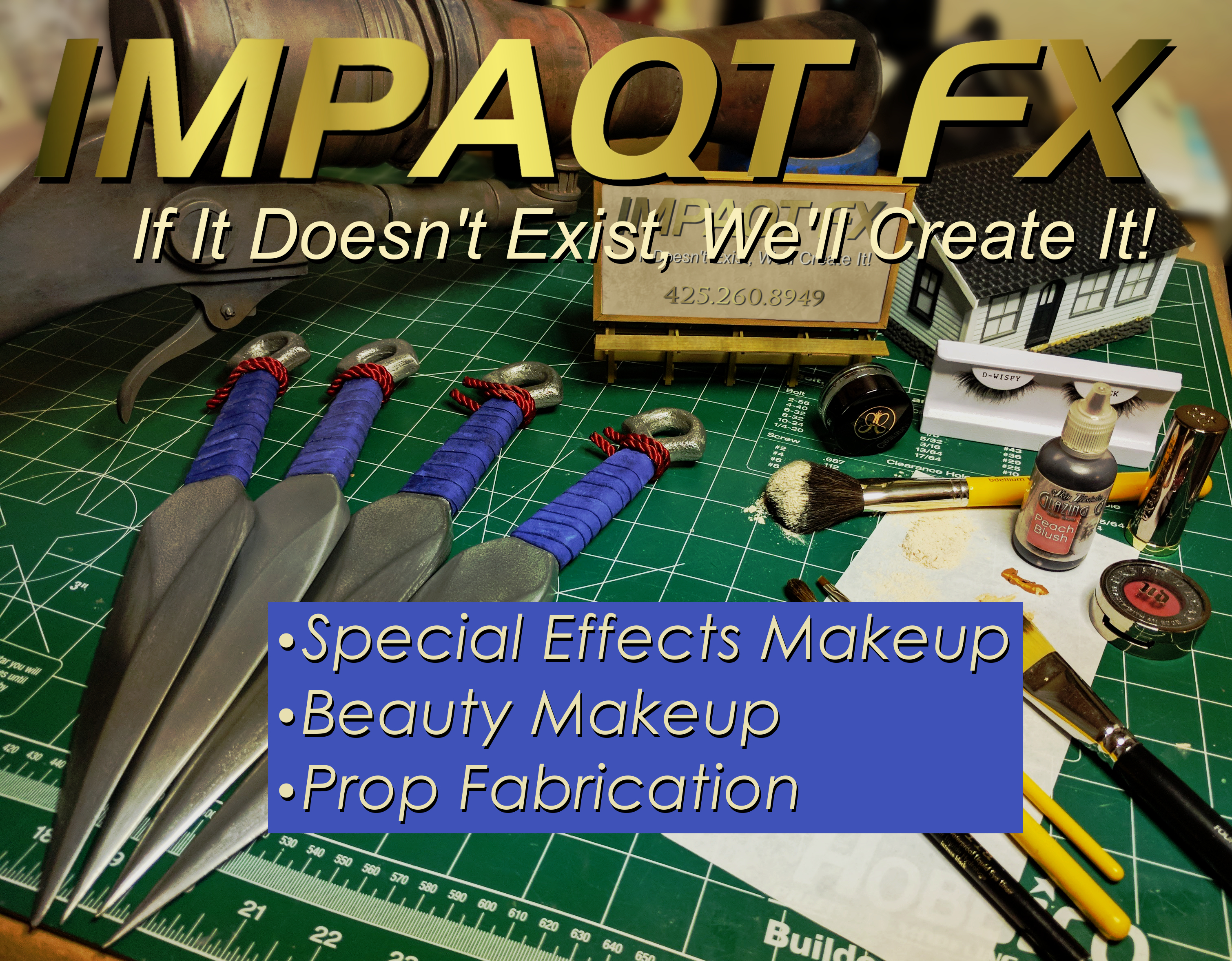 ImpaQt FX Props and Makeup Home Page
