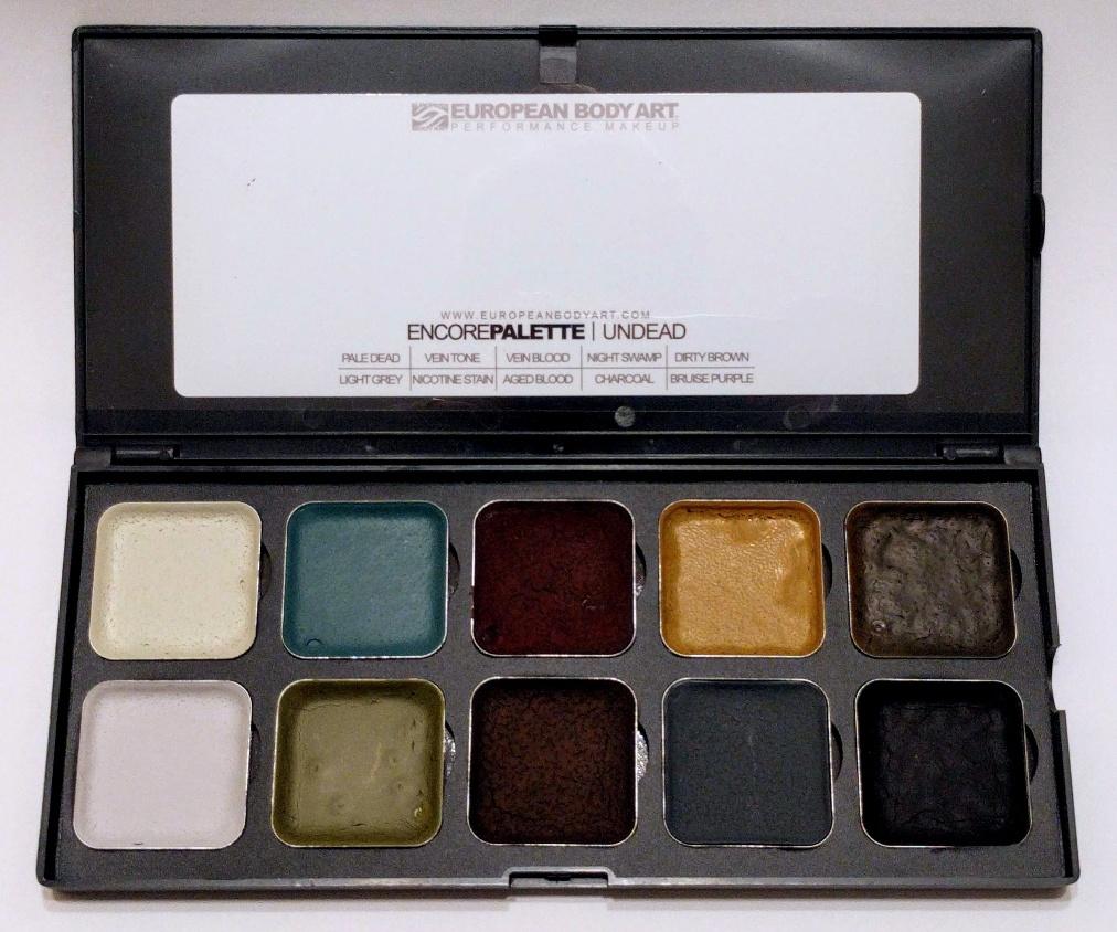 ENCORE Undead IPA Activated Makeup Palette