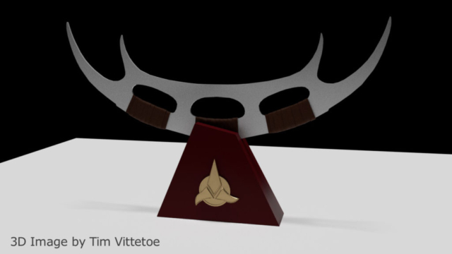 Bat'leth 3D Image by Tim Vittetoe