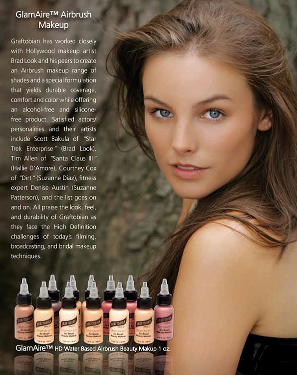 GlamAire™ HD Water Based Airbrush Beauty Makeup