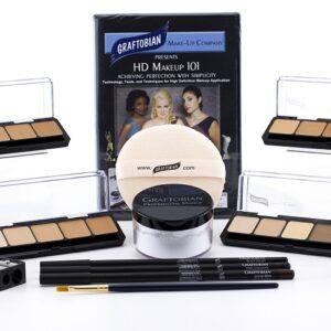 HD Professional Makeup Kits - Light, Medium and Dark Foundation Palette