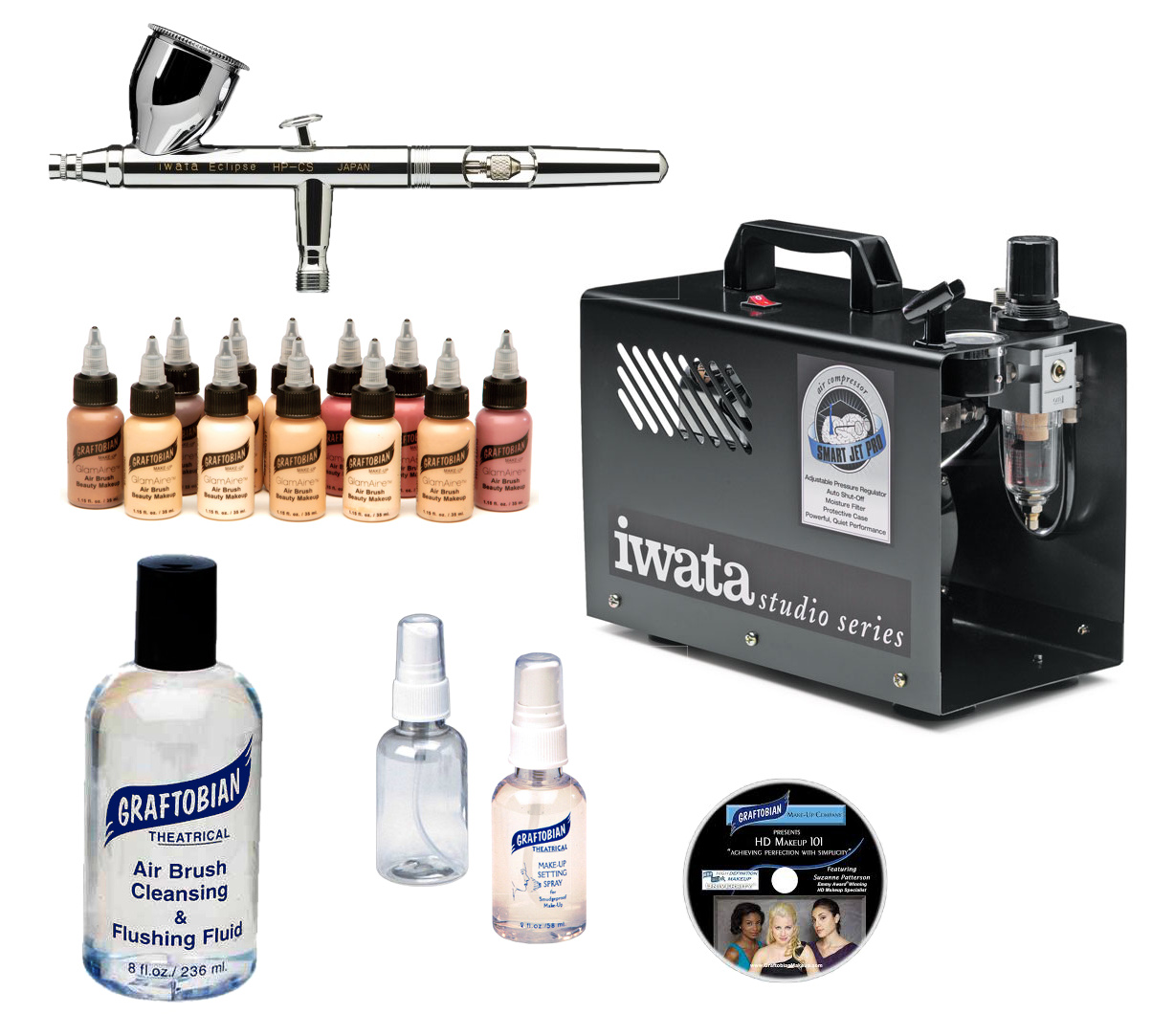 Smart Jet Pro Complete Airbrush System